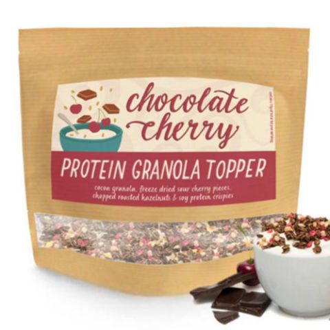 Graze Chocolate and Cherry Protein Granola Topper