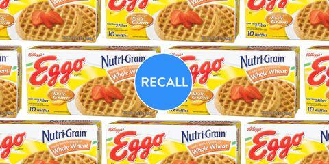 Eggo waffle recall