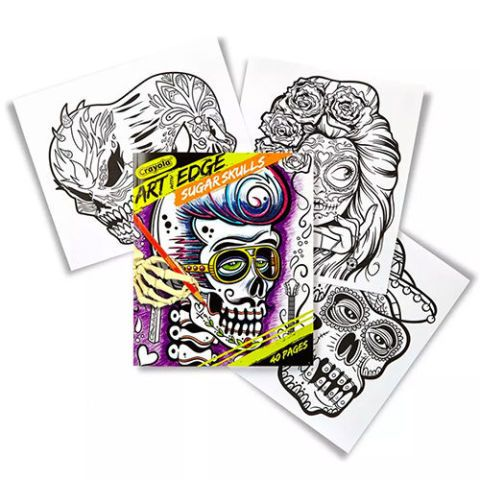 Crayola Art With Edge Sugar Skulls