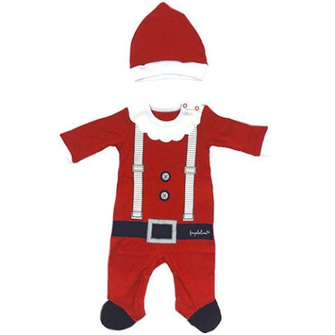 baby christmas outfit santa costume