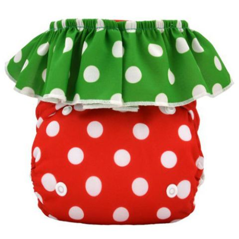 Strawberry Cloth Diaper
