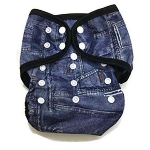 Denim Cloth Diaper