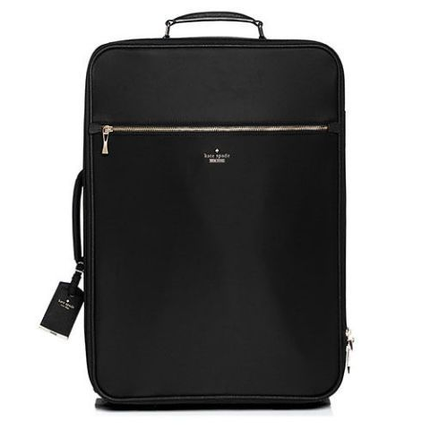 kate spade classic nylon international carry-on suitcase