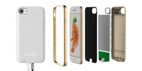 Fuze iPhone 7 case with headphone jack