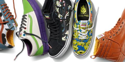 9b315b4cbe11 Vans and Pixar Collaborate for Toy Story Shoes Collection 2018