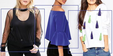 official supplier buying cheap low cost 9 Best Fall Statement Tops on Sale Now at ASOS 2018