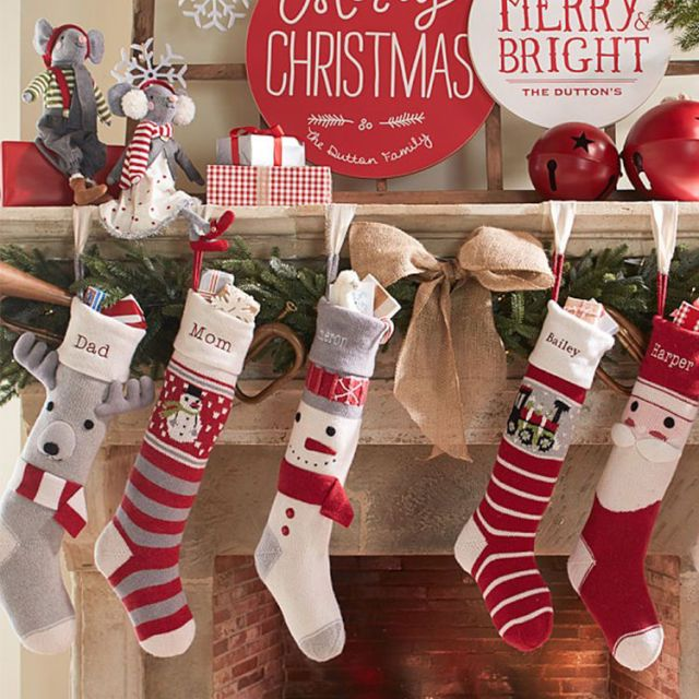 9 Best Christmas Stockings For 2018 Knit And