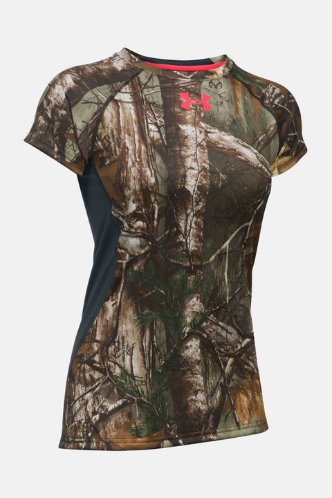 Under Armour Women's Scent Control Camo Tech Shirt