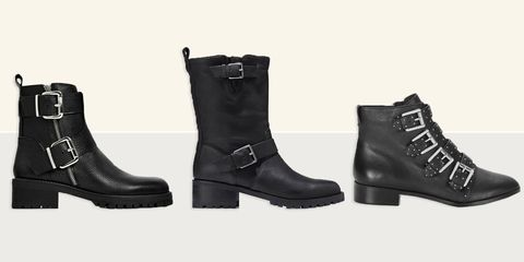 10 Best Black Biker Boots For Women In 2018 Edgy Leather Biker And