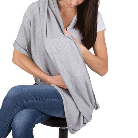 Breastfeeding Infinity Scarf and Nursing Cover