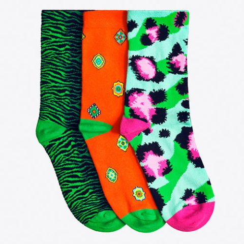 kenzo hm three pack of socks