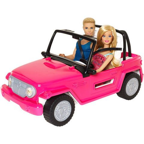 Barbie Ken Jeep