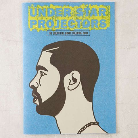 Under Star Projectors The Drake Coloring Book