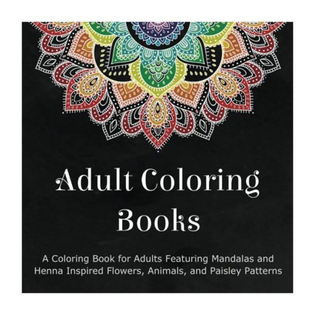 18 Best Adult Coloring Books in 2018 Stress Relief Coloring Books