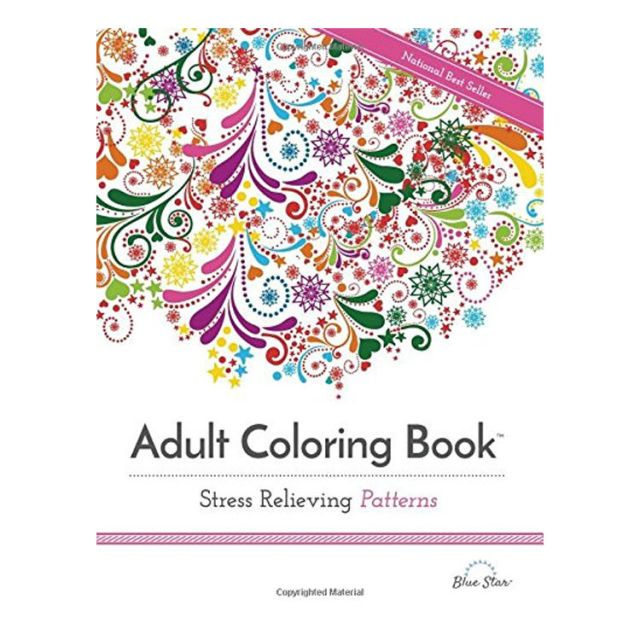 18 Best Adult Coloring Books in 2018 - Stress Relief Coloring Books ...