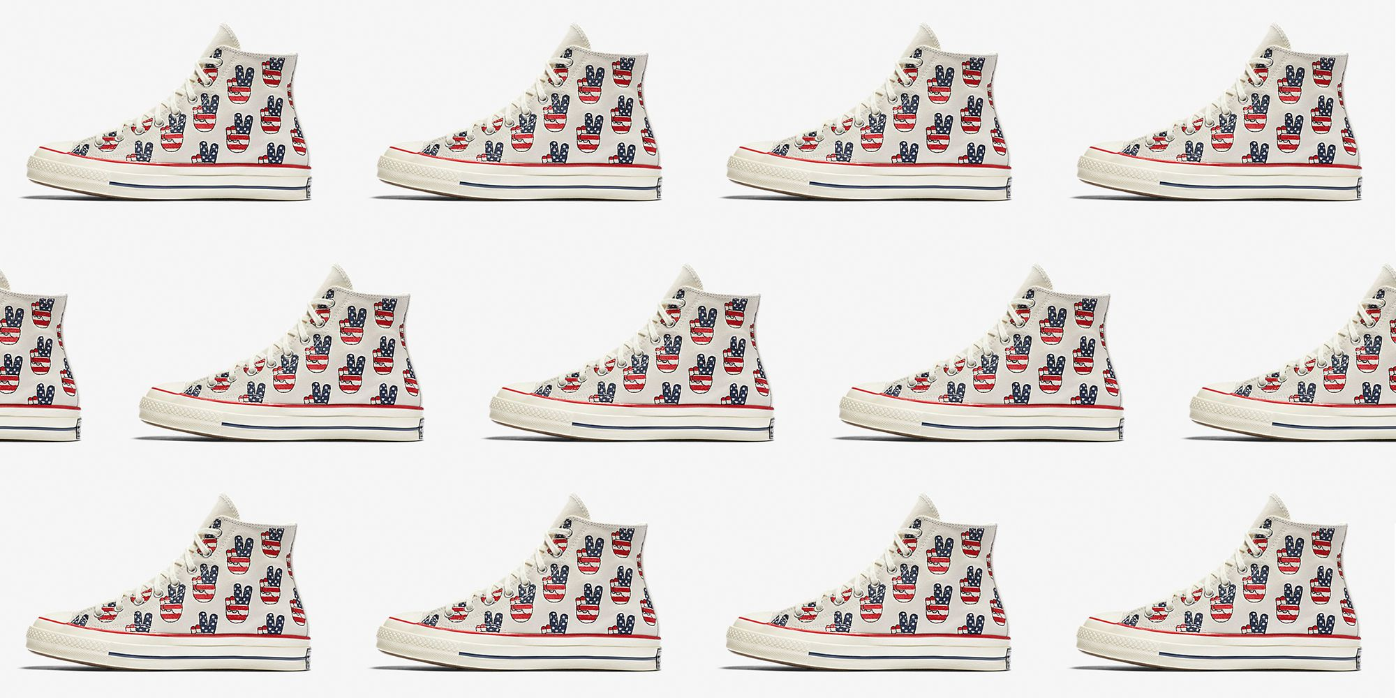Converse Limited Edition Election Day Chuck Taylor All Star Sneakers 2018 08ac552a4