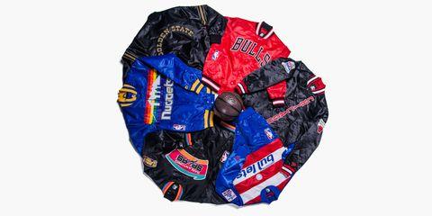 DTLR NBA starter jackets