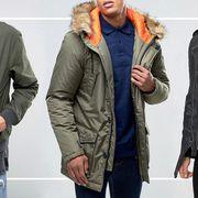 ASOS mens outwear sale