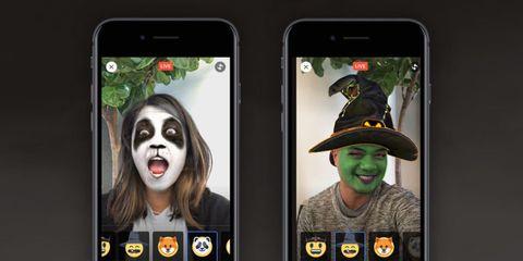 Facebook mask filters