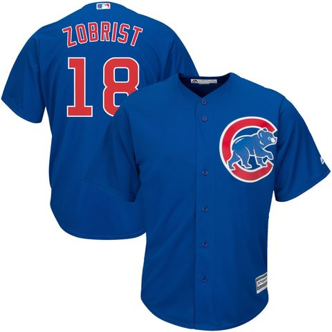 03bc86157 Ben Zobrist Chicago Cubs Player Jersey — Royal Blue