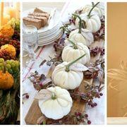 thanksgiving centerpiece ideas with pumpkins