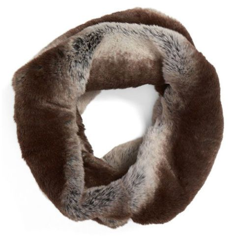 badgley mischka faux fur infinity scarf