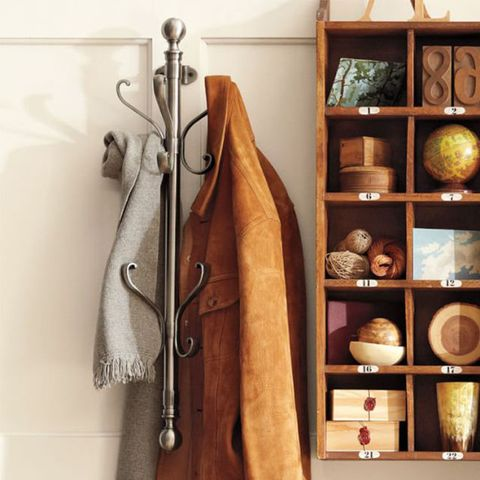 Pottery Barn Wall-Mount Coat Rack