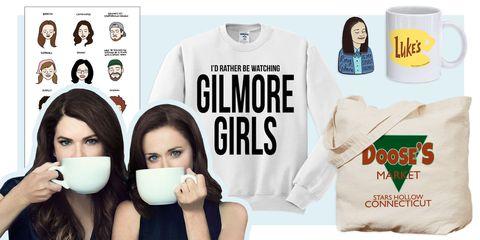 Gilmore Girls revival merchandise