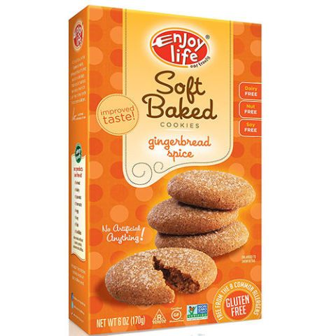 Enjoy Life Soft Baked Gluten-Free Gingerbread Spice Cookies