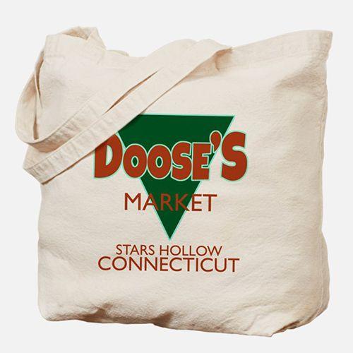 Dooses Market Gilmore Logo Tote Bag