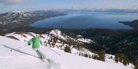 Lake Tahoe CA ski vacation