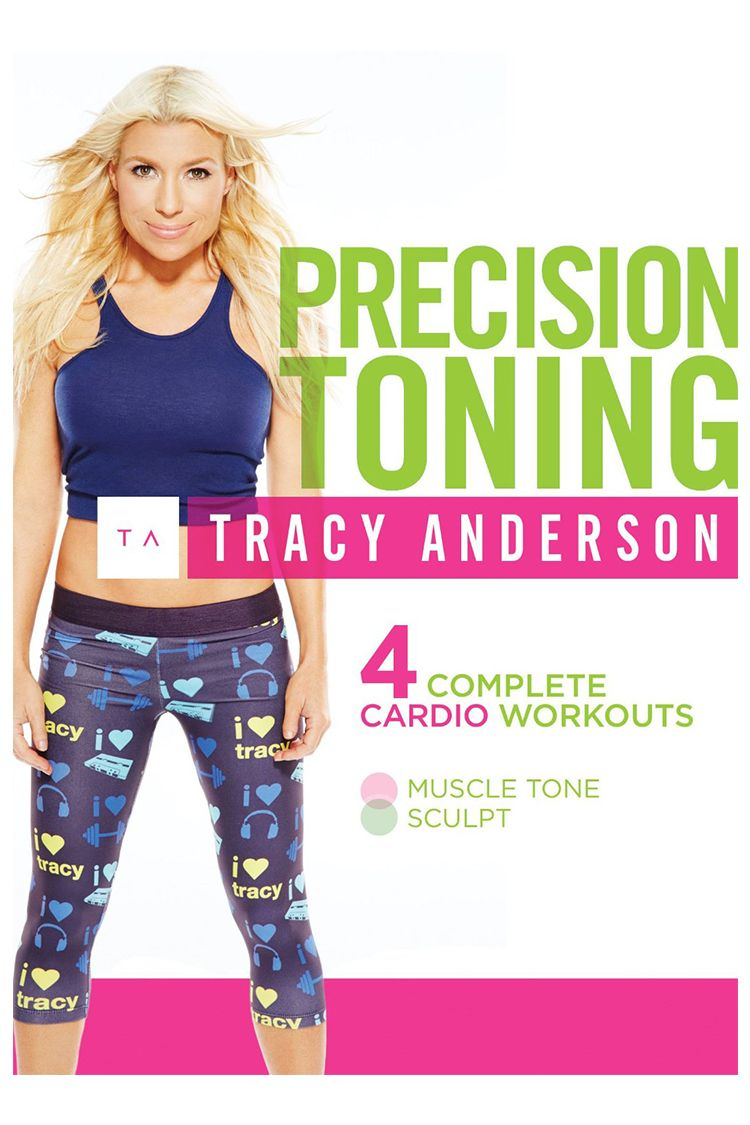 Tracey Anderson Precision Toning DVD
