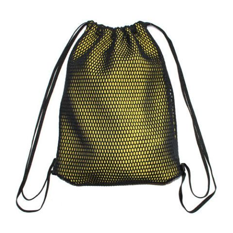 Michi Mesh Drawstring Bag Backpack