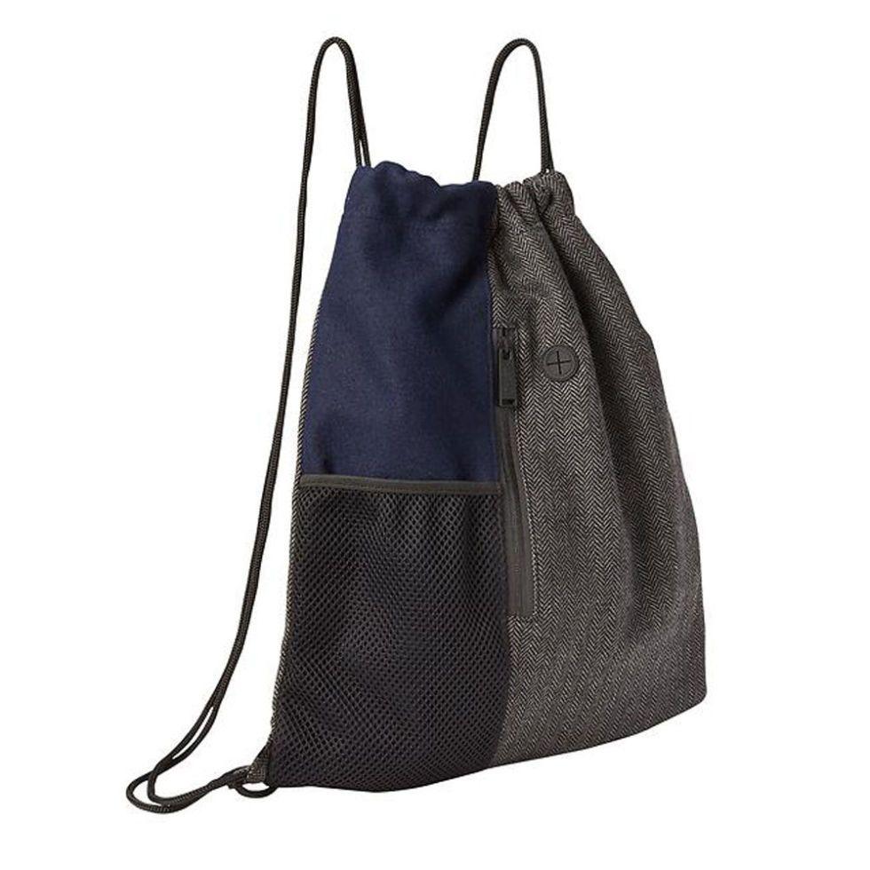 Drawstring Bags Drawstring Backpack Dumbbells Pattern Shoulder Bags