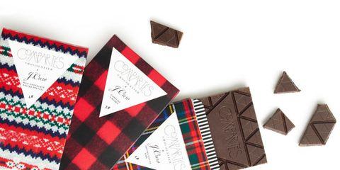 J. Crew x Compartes chocolate