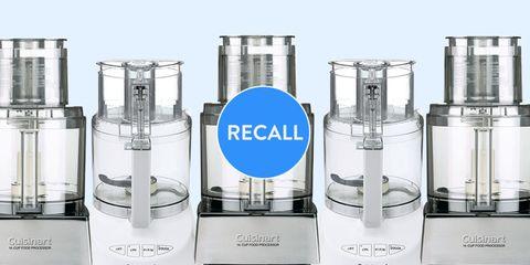 Cuisinart food processor recall