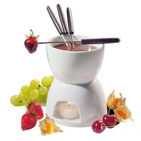 Ceramic Chocolate Fondue Pot