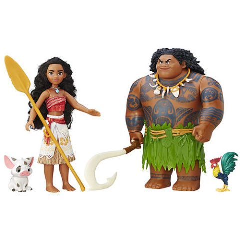 Moana Toy Set