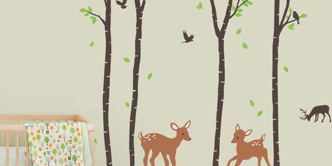 Whether You Re Into Fo And Fawns Or Birds Leaves There S A Perfect Tree Wall Decal Out For Every Woodland Nursery