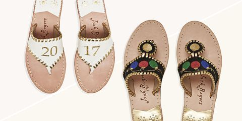 Jack Rogers holiday sandals