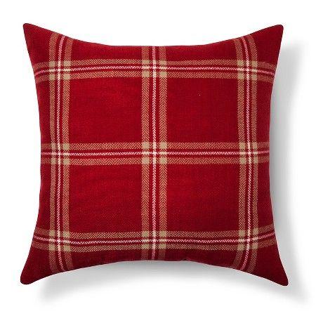 Threshold Plaid Throw Pillows