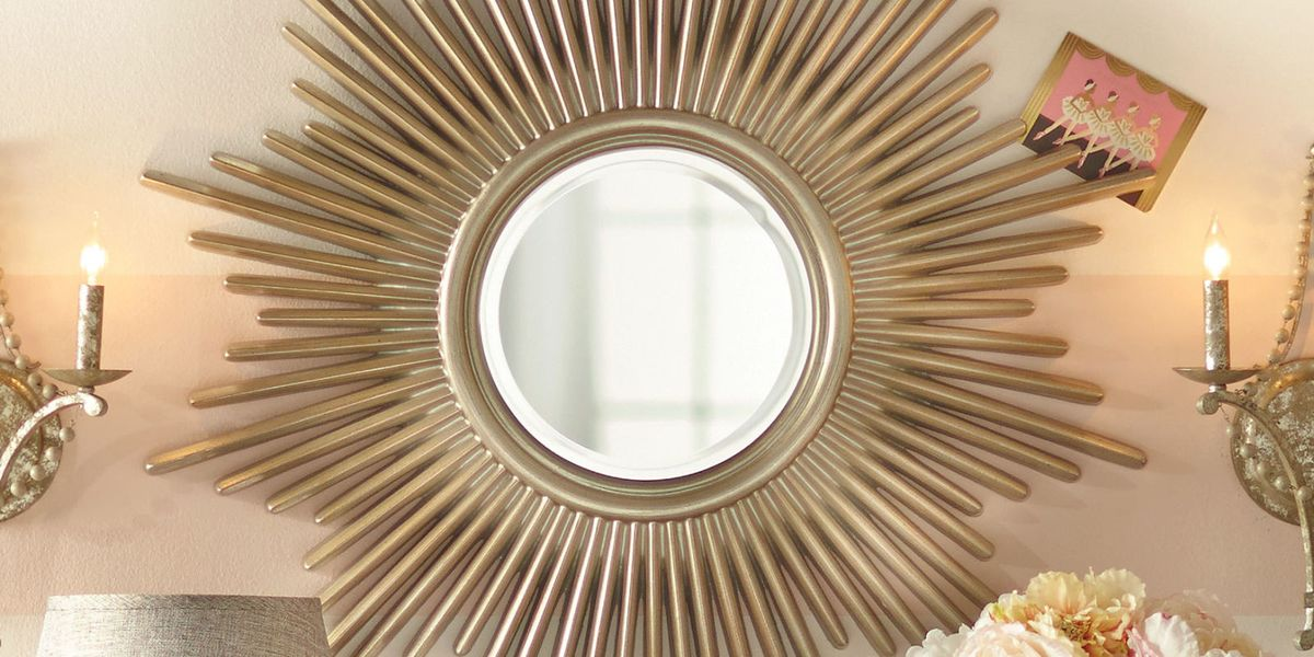 12 Best Sunburst Mirrors In 2018 Decorative Small And
