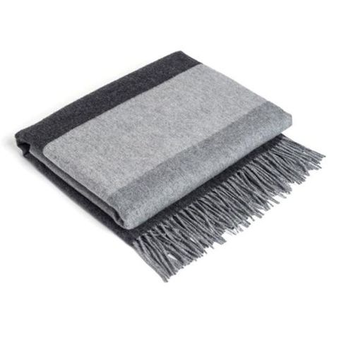 Parachute Striped Cashmere Throw