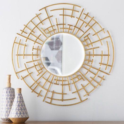 Langley Street Dimensional Wall Mirror