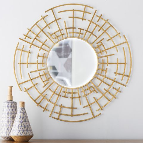 Langley Street Dimensional Wall Mirror