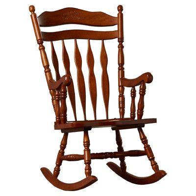 Loon Peak Greenwood Rocking Chair