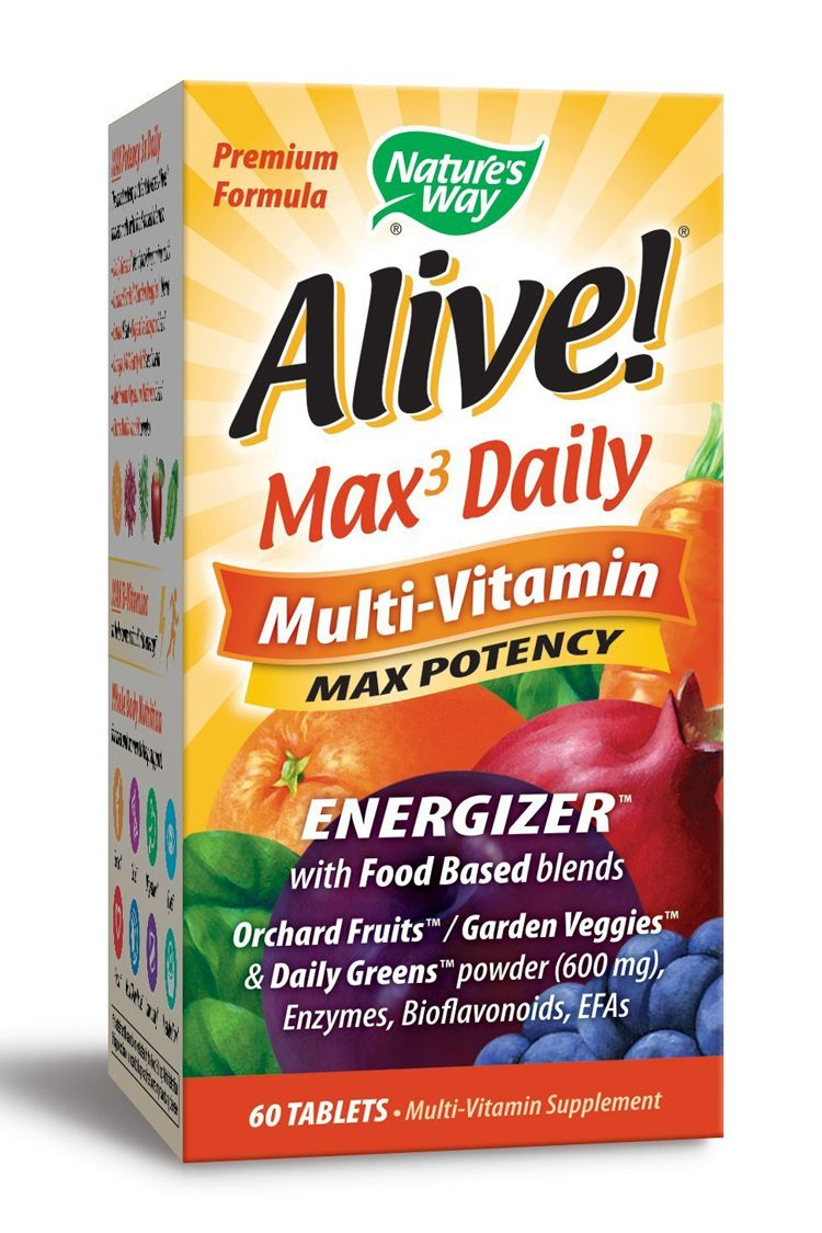 Nature's Way Alive Max Potency Multivitamin