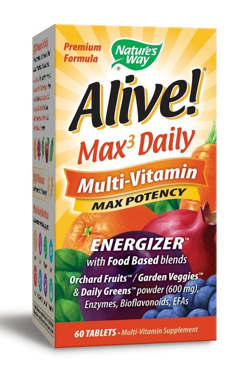 Nature's Way Alive Max Potency Multivitamin