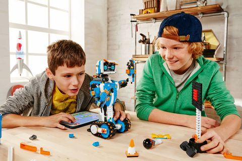 Lego Introduces Lego Boost 2018 - Lego Boost Creative Toolbox and ...