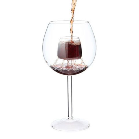 Fountain Aerating Wine Glasses